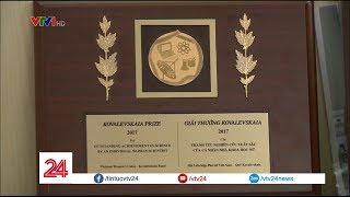 Ngày 8/3 của nữ khoa học trẻ nhất Việt Nam giành giải thưởng Kovalevskaia | VTV24