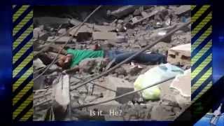 Israeli sniper killing wounded civilian; francotirador israelí matando a civiles heridos
