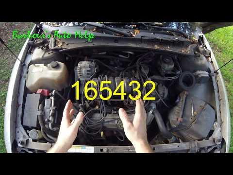 Firing Order and Cylinder Identification GM 3.8L Series 2 V-6