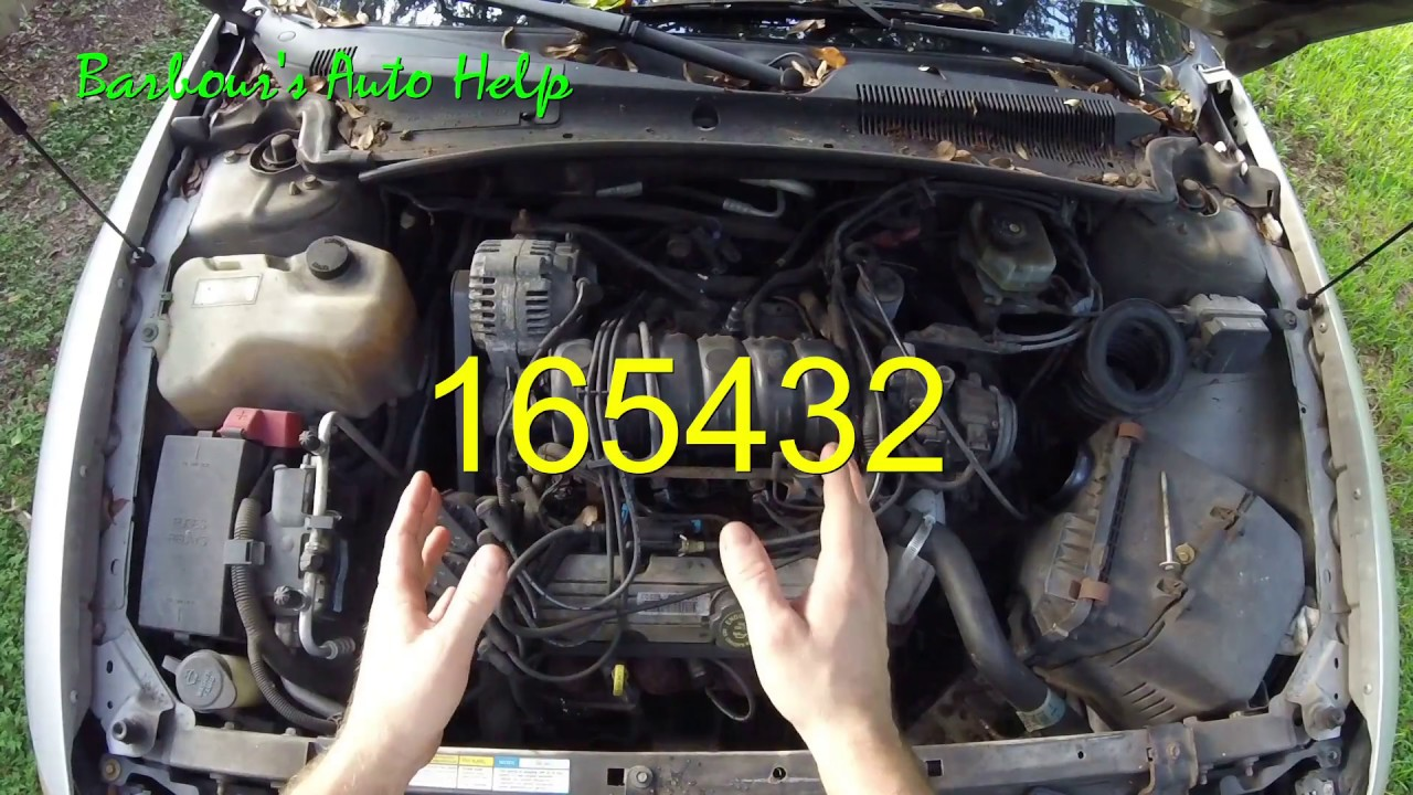 [NRIO_4796]   Firing Order and Cylinder Identification GM 3.8L Series 2 V-6 - YouTube | 2000 Buick Lesabre Spark Plug Wiring Diagram |  | YouTube