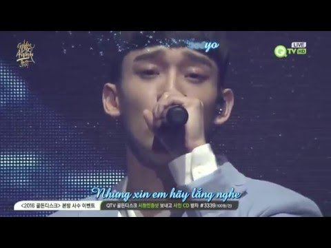 Vietsub+Kara 160121 Sing For You @30th Golden Disk Awards  EXO