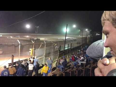 Tony Roush #T55  Skyline Speedway Latemodel heat race 9/9/17