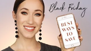 BLACK FRIDAY! | HOW & WHERE I SHOP | ALLIE GLINES