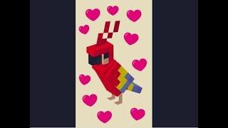 Tanzende Papageien I Roblox/Minecraft Meme?