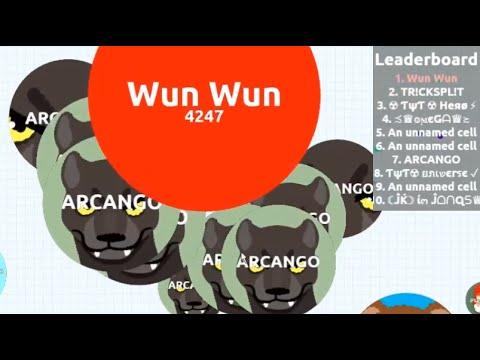 Agar.io - Solo In Party Mode: Defeating Teams