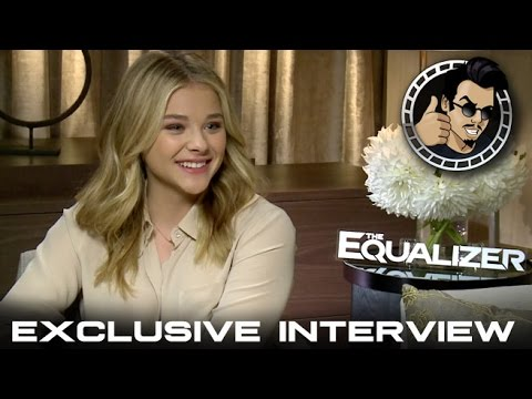 Chloe Grace Moretz Interview - The Equalizer (HD) 2014 - YouTube