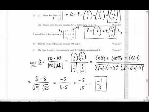 IB Math SL - May 2012 Paper 1 Key