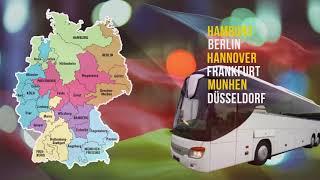 Автобус с водителем в Германии