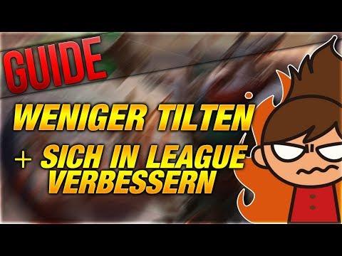 Weniger Tilten + In LOL Verbessern Guide! [League of Legends] [Deutsch / German] thumbnail