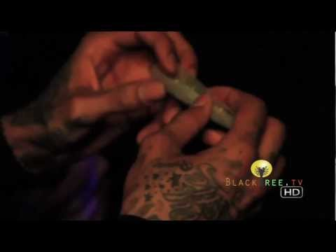 420 Exclusive - Wiz Khalifa shows how to roll a joint!