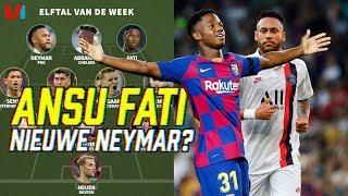 16-Jarige Ansu Fati Redder Barcelona & Neymar Heeft Ballen!