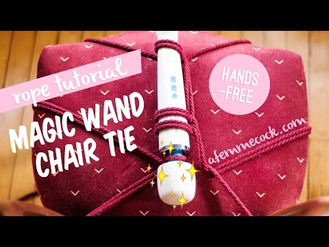 Magic Wand Rope Tutorial: Hands-Free Chair Tie