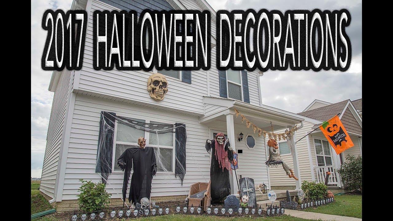 another halloween night my halloween decorations 2017
