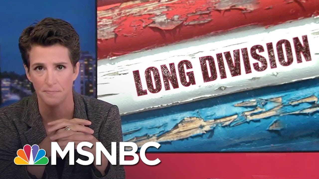Dyke Maddow: Racism Is 'A Persistent Infection' In White American Culture