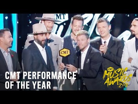 CMT Performance of the Year | Backstreet Boys & Florida Georgia Line | 2018 CMT Music Awards LIVE