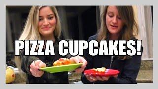 How To Make Pizza Cupcakes! | iJustine Cooking | iJustine