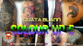 Quata Blann - Colour Up E - August 2018