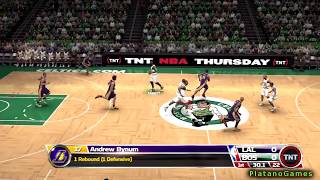 NBA 09 The Inside - Los Angeles Lakers vs Boston Celtics - NBA Finals 2008 - PS3 Demo - HD