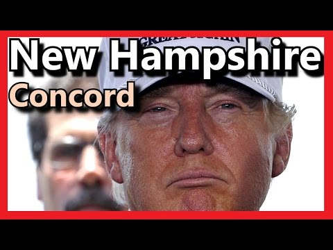 Donald Trump LIVE Concord High School New Hampshire January 18 2016 HD FULL SPEECH ✔
