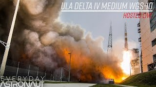 Watch the second to last Delta IV medium launch EVER!