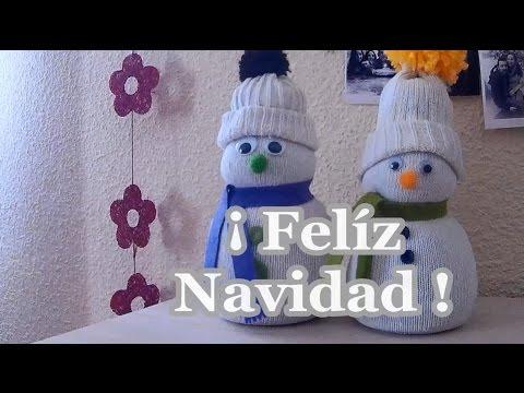 Adornos de navidad diy mu eco de nieve manualidades - Adorno de navidad manualidades ...