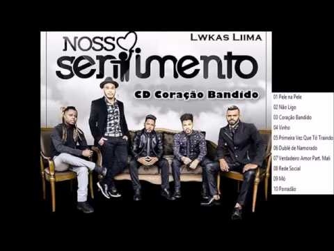 Nosso Sentimento CD Coração Bandido lançamento
