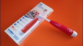 Tish cho'tkasi CS CS Medica-465-W mulohaza. Elektr toothbrushes turlari.