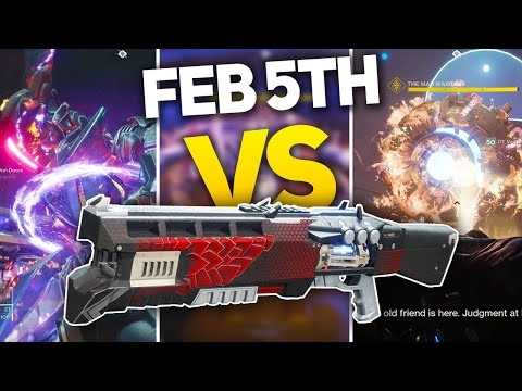 Destiny 2: Melting all February 5th Nightfall Bosses with Buffed Legend of Acrius thumbnail