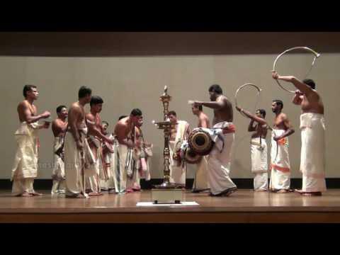 Panchavadyam | Kalamandalam Manoj & Team | NIAS Bengaluru | 10 Nov 2016