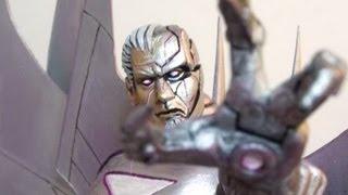 FALLEN GENOSHA Custom Marvel Legends action figures and diorama