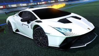 The NEW Lamborghini Huracan Is INSANE! | So Many CLUTCH Saves... | PRO Rocket League Gameplay