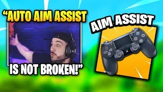 Nickmercs GOES OFF Against HATE On Controller Aim Assist | Fortnite Daily Funny Moments Ep.307