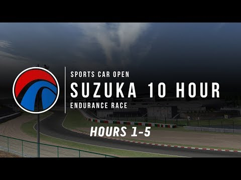 Sports Car Open | 10 Hour Suzuka Endurance | Hours 1-5