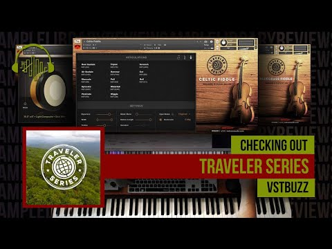 First Look:  Celtic/Bluegrass Fiddle by Red Room Audio Traveller Series