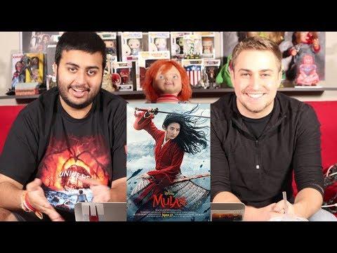 Mulan (2020)    Trailer Reaction   