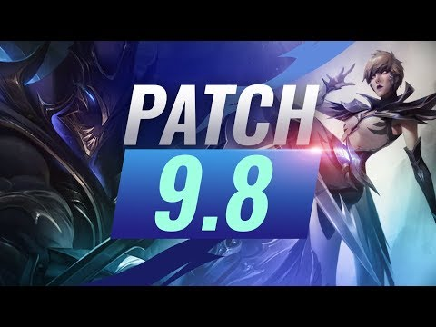 Best Champions TIER LIST - League of Legends Patch 98