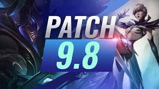 Best Champions TIER LIST - League of Legends Patch 9.8