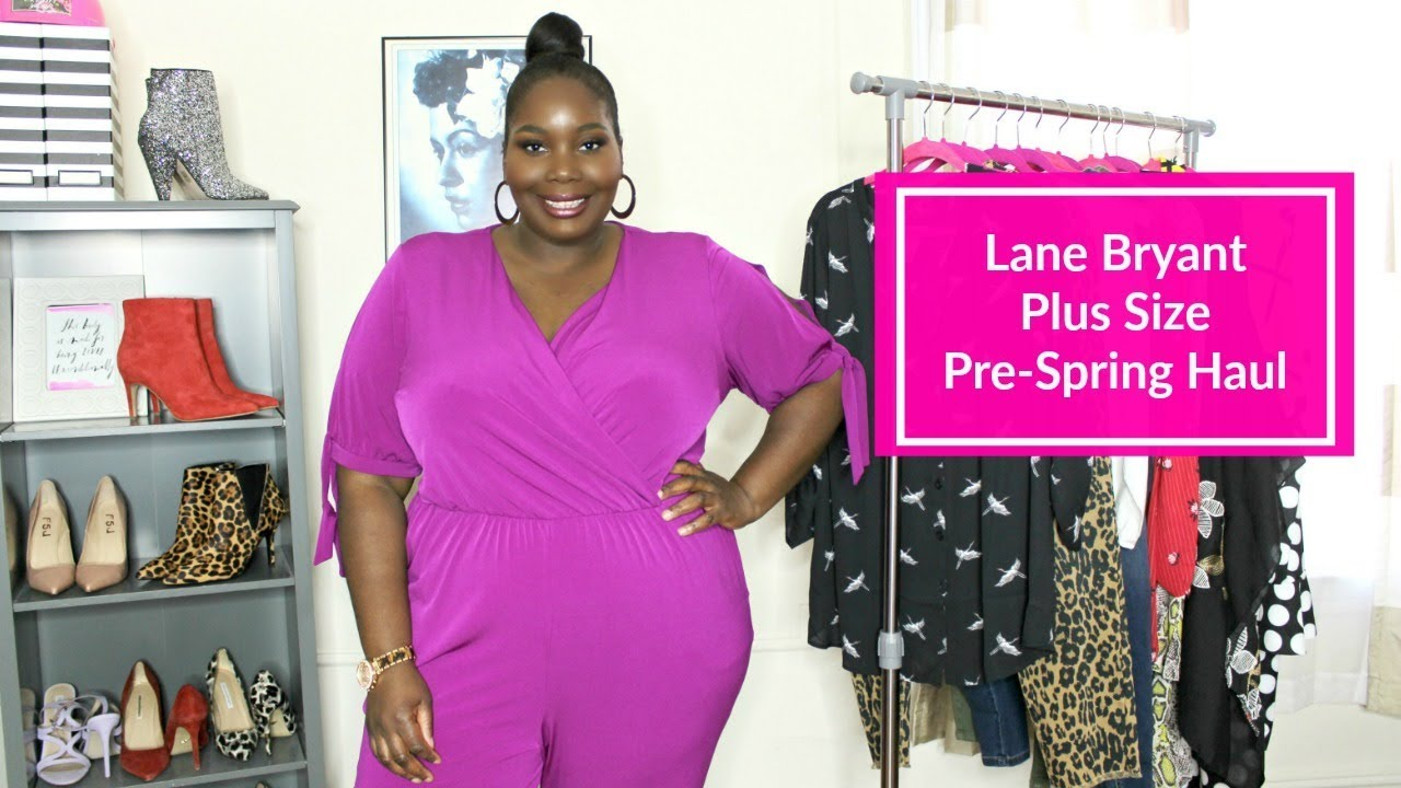 983d85a577c Lane Bryant Plus Size Fashion Haul  Pre-Spring 2019. Stylish Curves