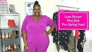 Lane Bryant Plus Size Fashion Haul/ Pre-Spring 2019
