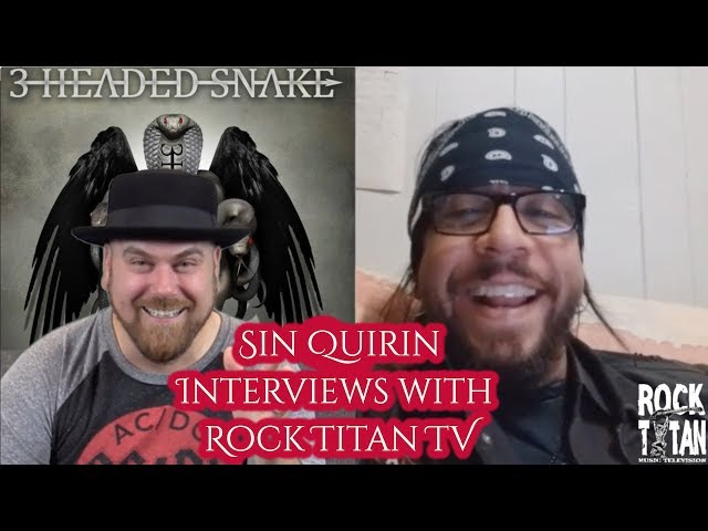 Ministry guitarist Sin Quirin discusses NEW band 3 Headed Snake
