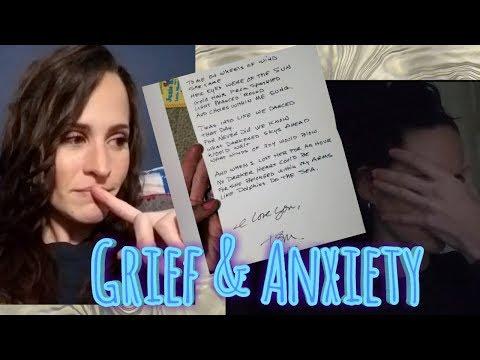 Grief Journal #1 🖤 A Dark Day & Anxiety