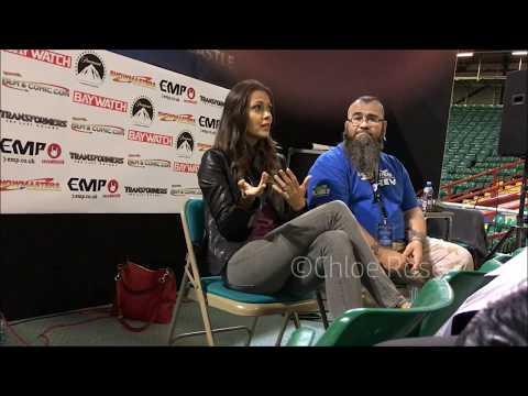 Olga Fonda  Newcastle Film & Comic Con Q&A