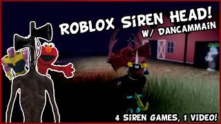 SIREN HEAD But We Also Get Attacked By Elmo & Thanos! | ROBLOX GAMEPLAY w/ DanCamMain