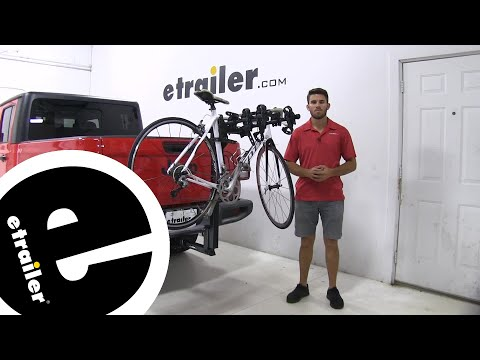 etrailer | Thule Hitching Post Pro Hitch Bike Racks Review - 2020 Jeep Gladiator