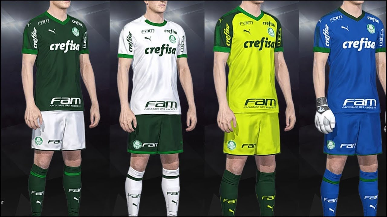 PES 2018 - kits Palmeiras Puma Fantasy 2019 PS4 PC - YouTube f15256654bc52