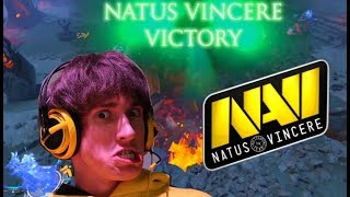 NaVi vs Fnatic , Comeback is Real : GESC Indonesia Dota 2 Minor
