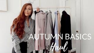 AUTUMN BASICS HAUL -  Top 6 Autumn Wardrobe Essentials