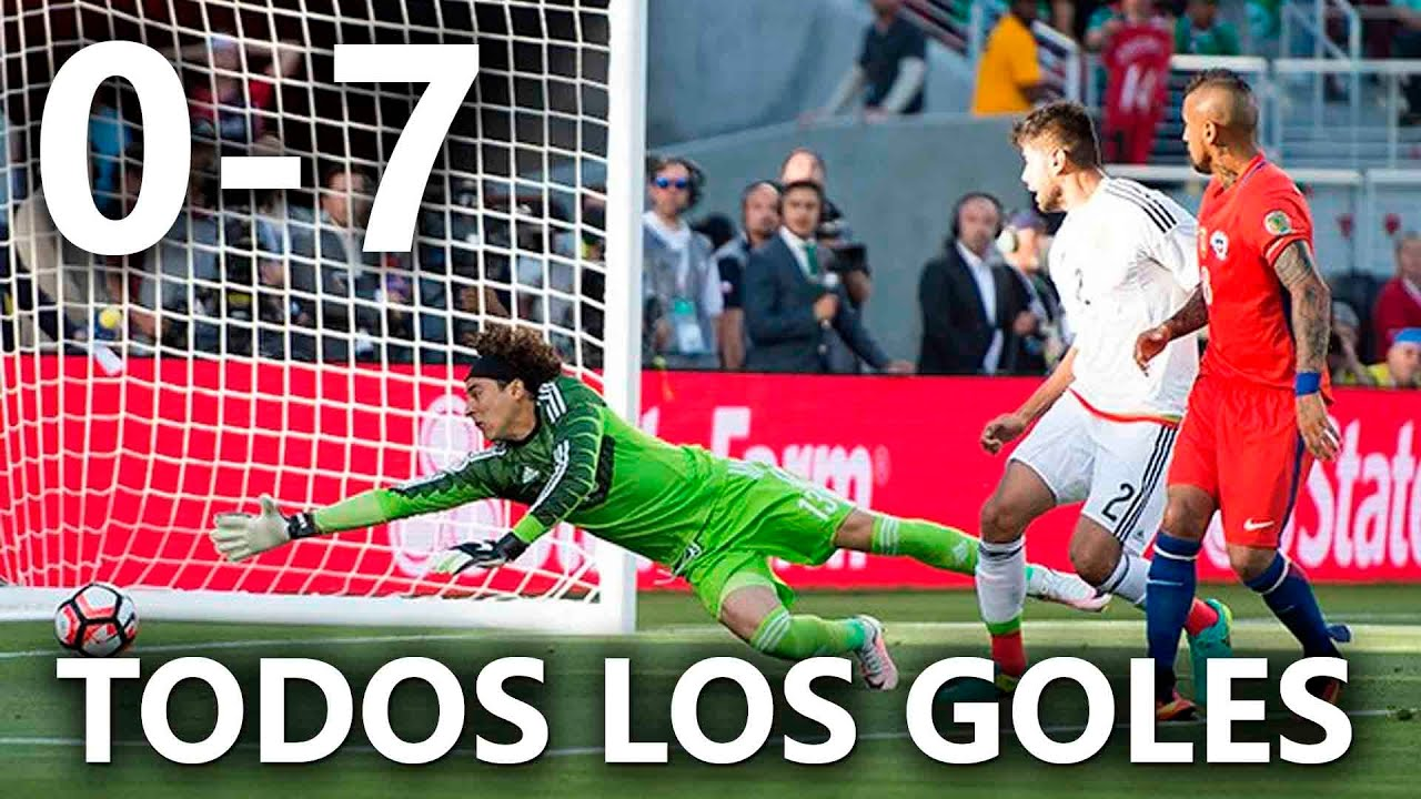 México vs Chile 0-7 RESUMEN & GOLES HD / México 0-7 Chile 2016 HD - YouTube