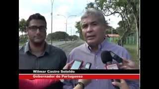 Gob. Castro Soteldo Inspecciona AV. Aeropuerto Acarigua-Araure