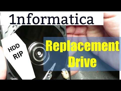 Dell Inspiron 15R Hard Drive Replacement Laptop Repair Tutorial